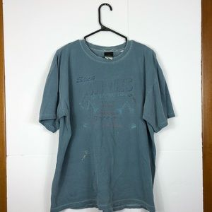 Tops - Vintage distressed t shirt Sz L